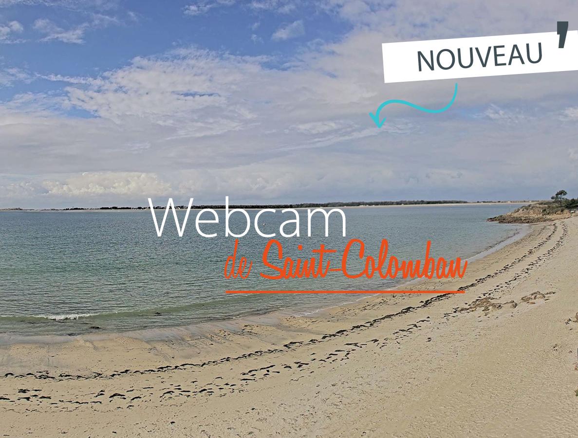 Webcam plage de Saint-Colomban