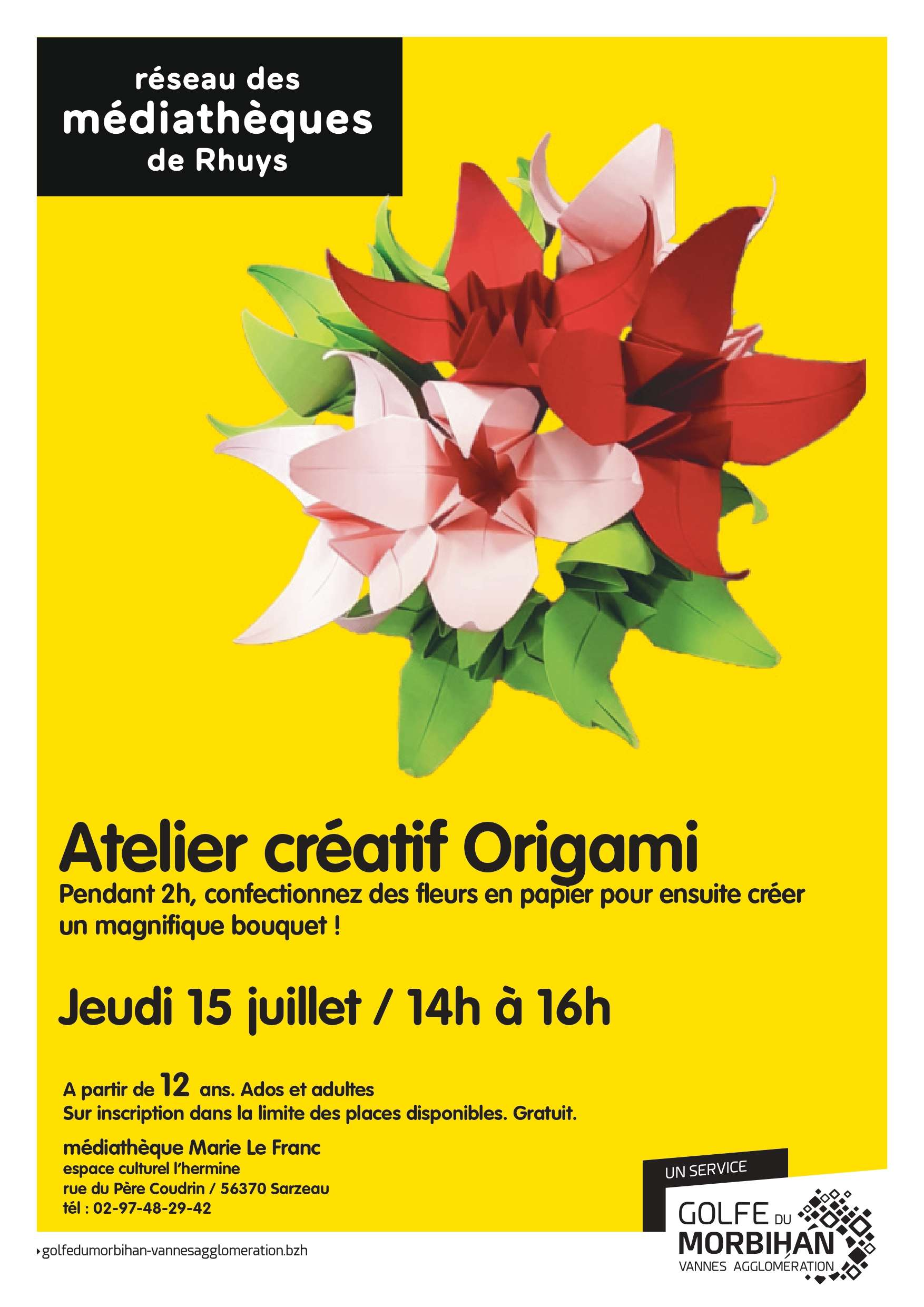 Origami à Sarzeau août
