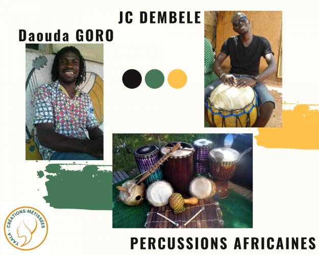 1-Percussions africaines