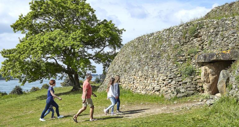 1_Croisière et visite Cairn de Gavrinis
