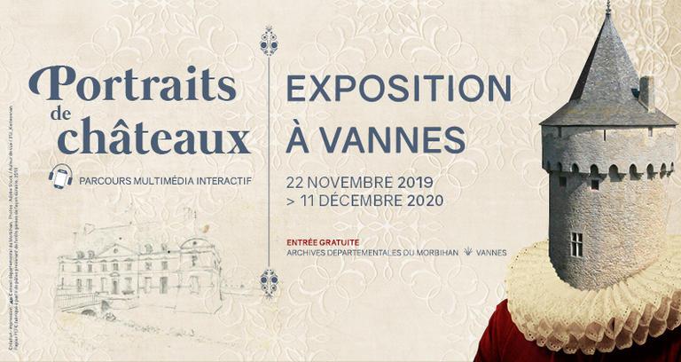 Exposition Portraits de Chateaux Vannes