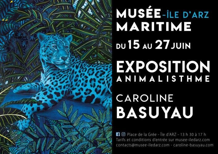 Exposition peinture animalière Caroline Basuyau