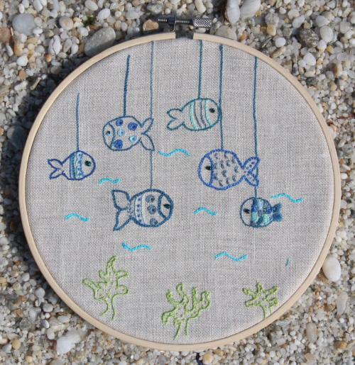 Racontines des poissons bleus