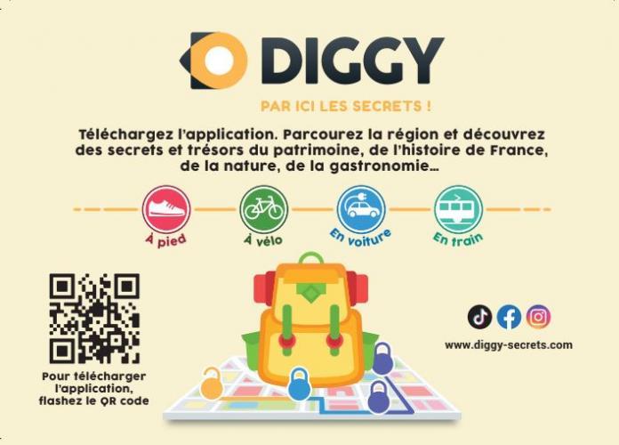 Diggy, par ici les secrets