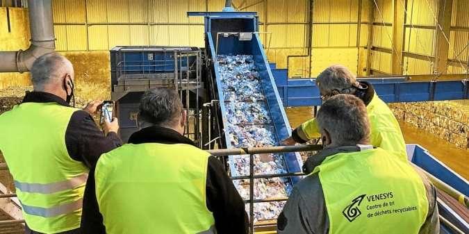 1_visite virtuelle du centre de tri des déchets