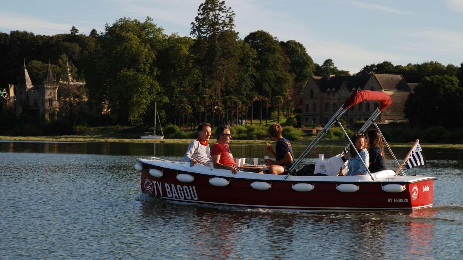 Ty Bagou - Location de bateaux électriques sans permis
