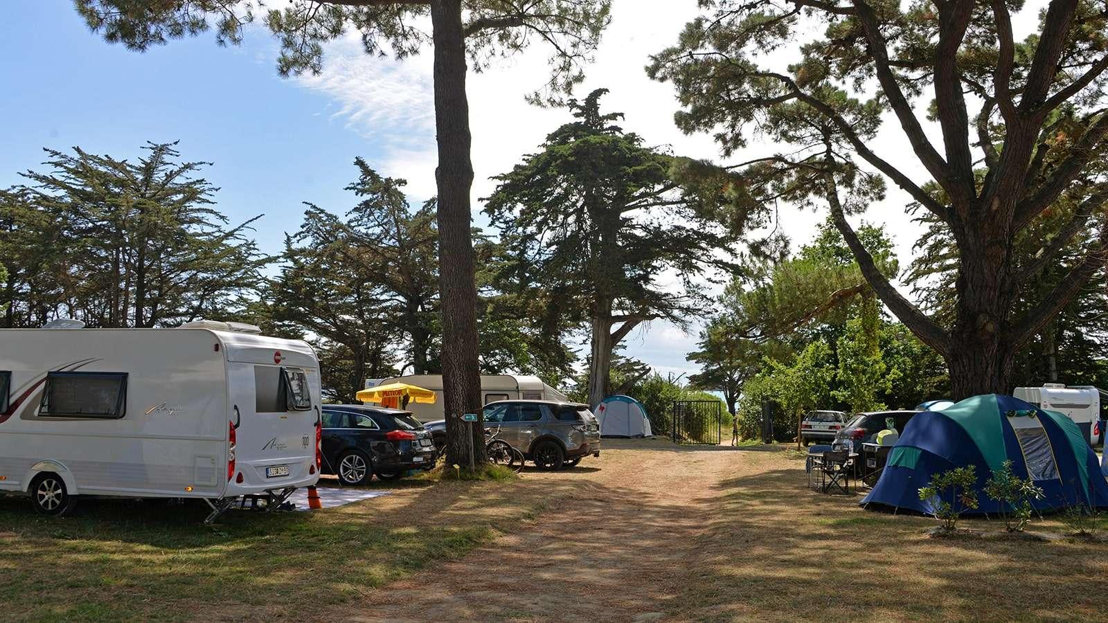 Camping Ker Eden Les Pieds dans L'eau dans le Golfe du Morbihan
