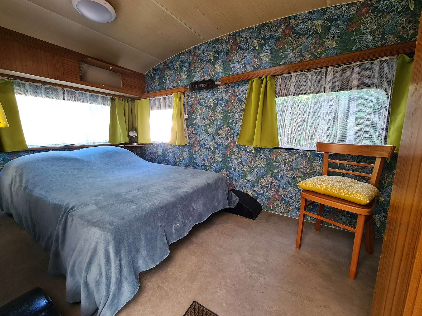 Camping du Parc-Lann - Caravane ADRIA le couchage