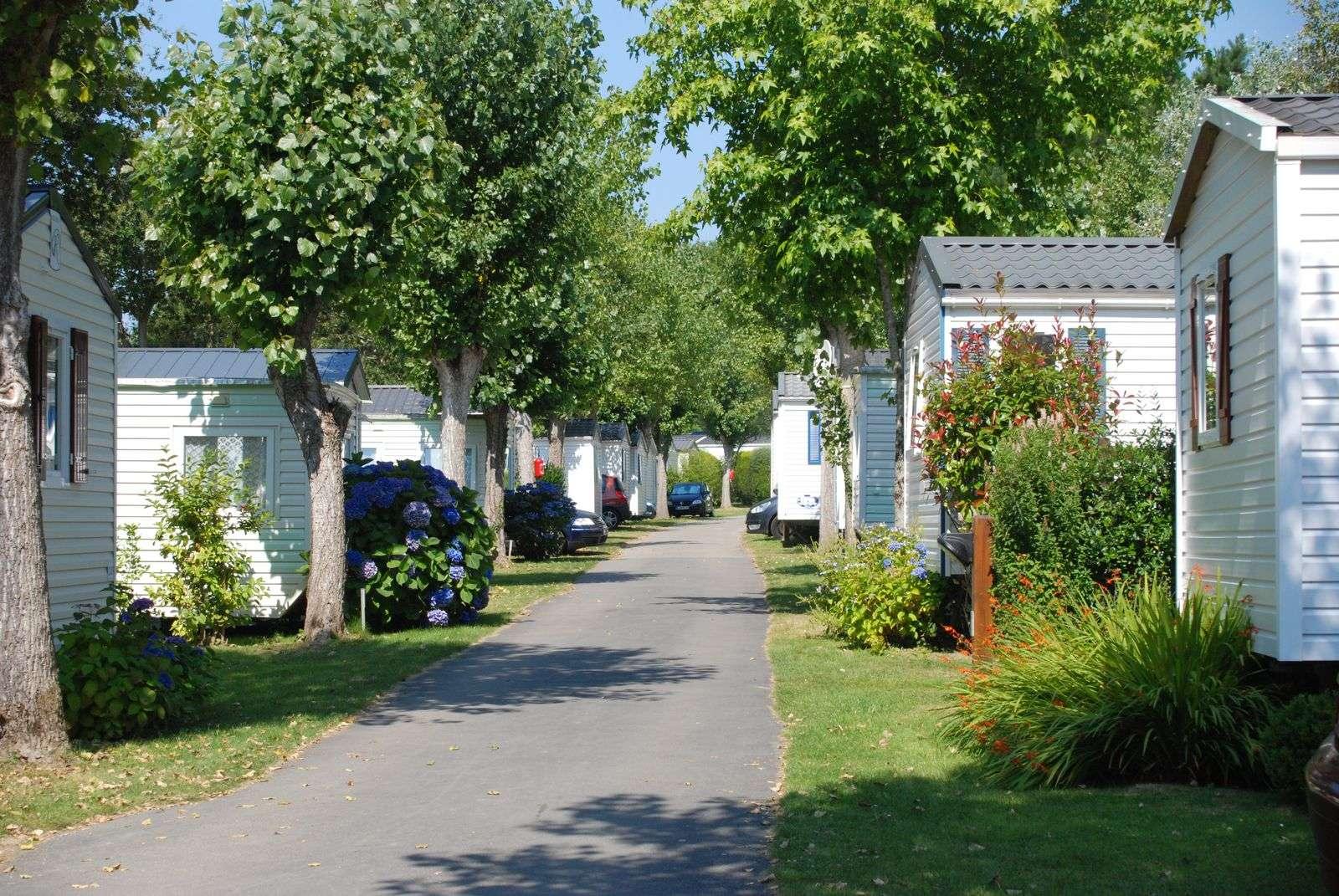 allee-mobil-home_hebergement_camping-le-moulin-de-kermaux_carnac