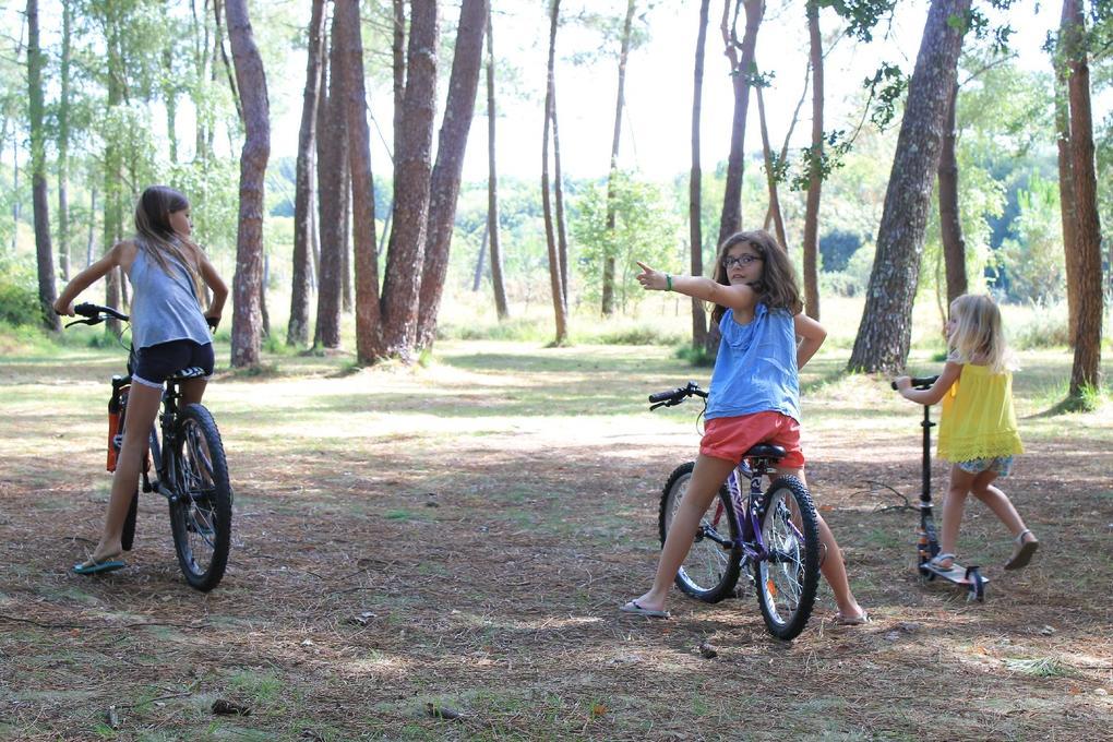 vélos camping Saint Laurent à Ploemel