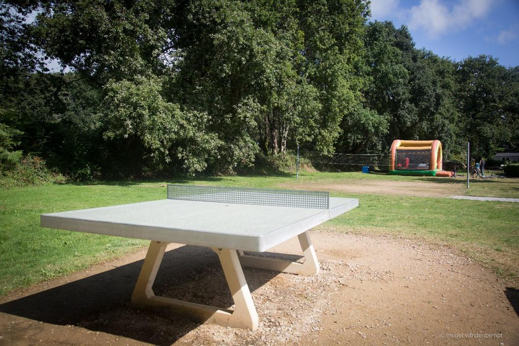 ping pong au camping Saint Laurent à Ploemel