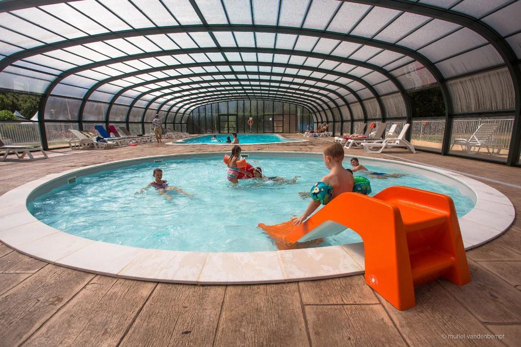 piscine enfant camping Saint Laurent à Ploemel