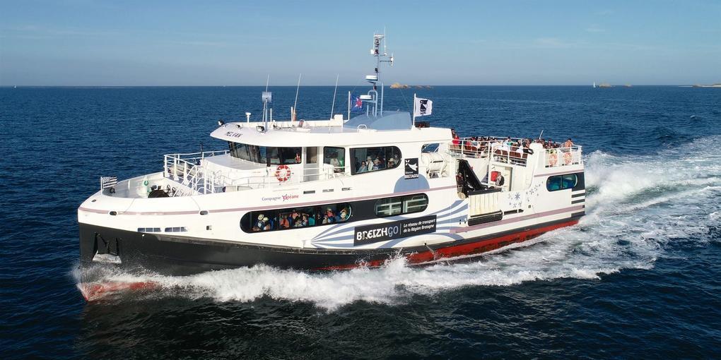 compagnie océane vers les îles morbihannaises