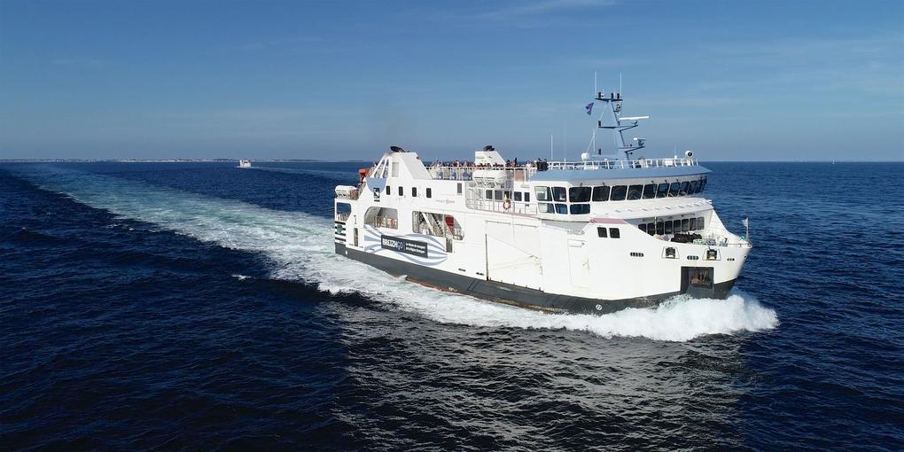 compagnie océane vers Belle ile en mer