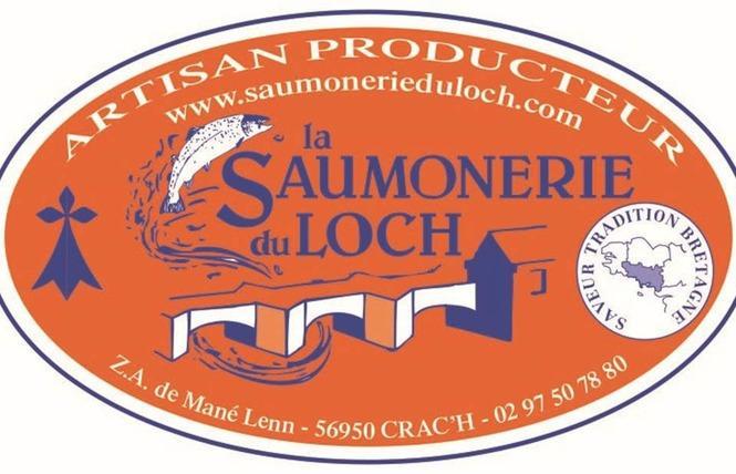 logo saumonerie du loch carnac