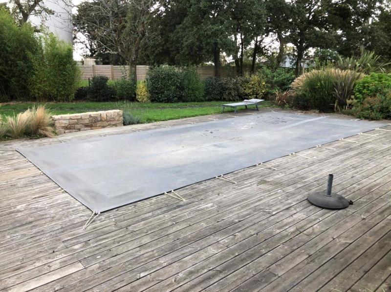 bâche de fermeture piscine Carnac