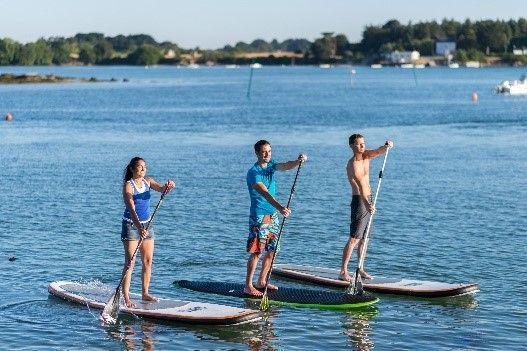 paddle avec Dihan Ploemel Carnac