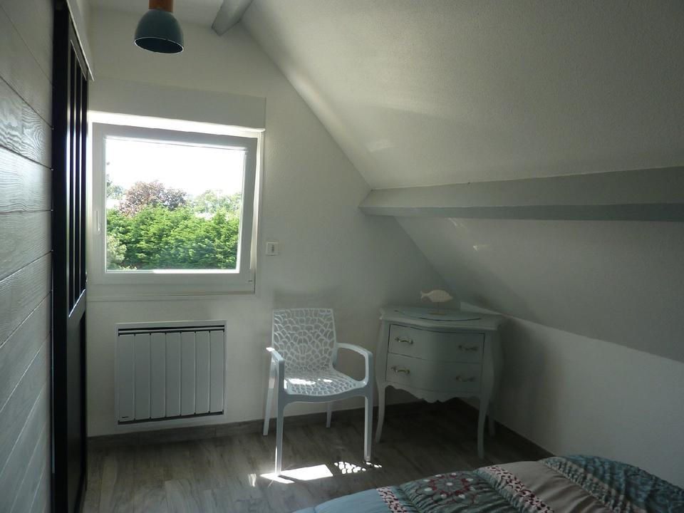 chambre 2_Hébergement_meublé_location_galiotes_huard_Carnac_Morbihan-Bretagne-Sud