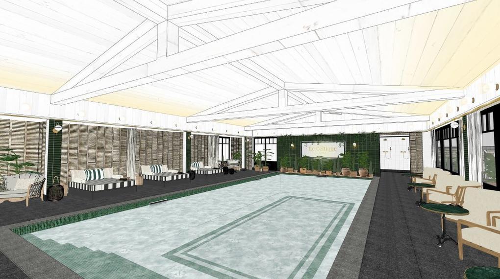 piscine couverte_Hôtel restaurant spa le celtique Carnac