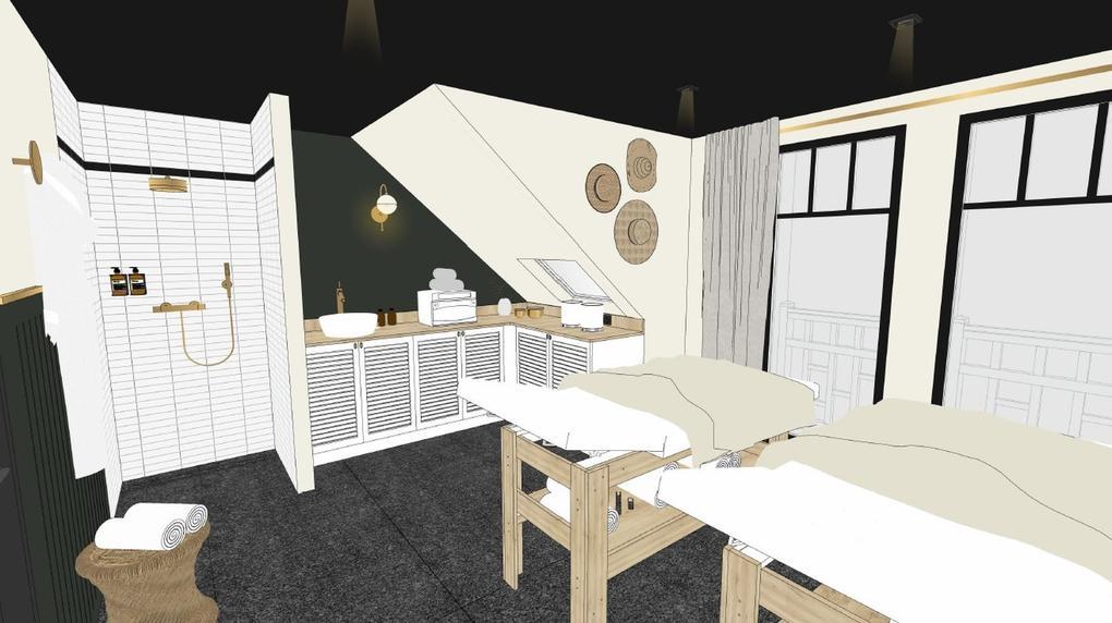 cabine double_soins_Hôtel restaurant spa le celtique Carnac