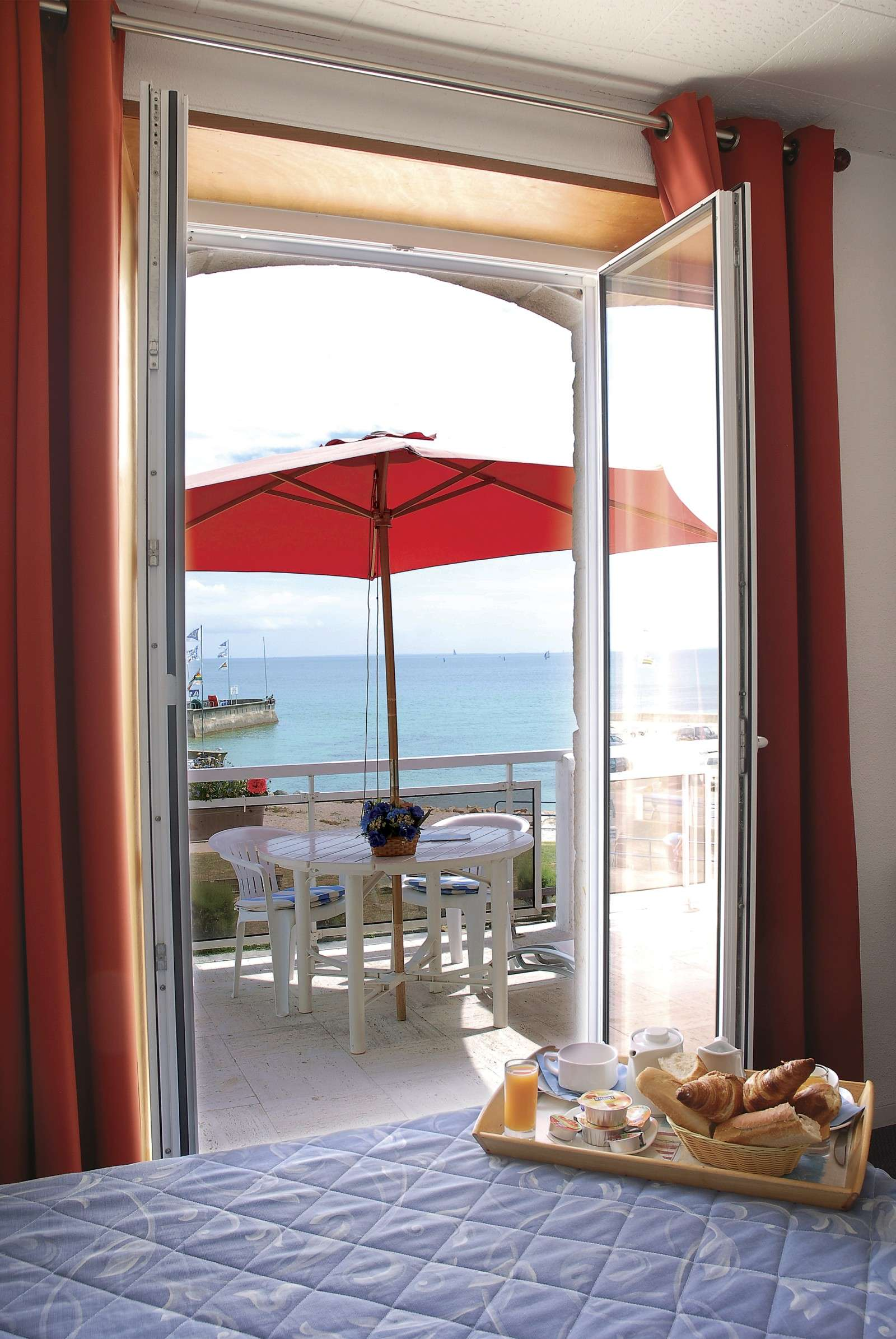hotel-les-rochers-Carnac-chambre-balcon