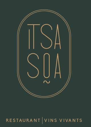 carte de visite restaurant Itsasoa à carnac ville