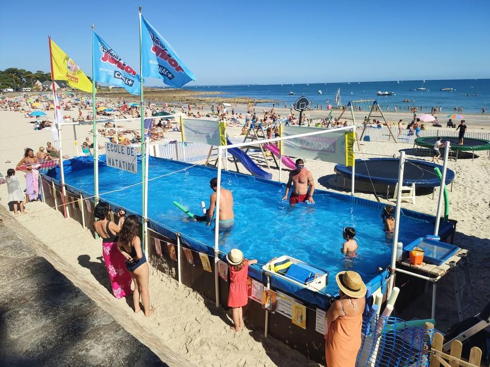 Club de plage Les Dauphins_ Plage ty bihan_ Carnac