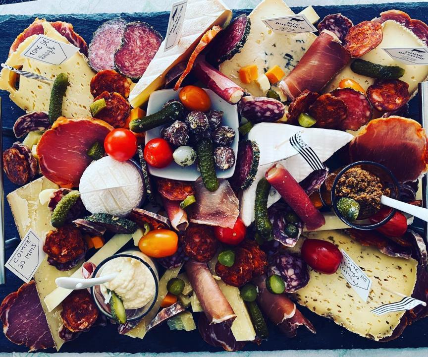 plateau de fromage_sur la paille_Carnac