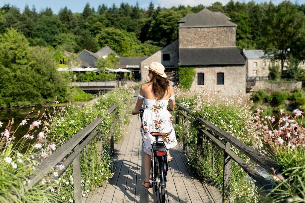 Le jardin Yves Rocher La Gacilly