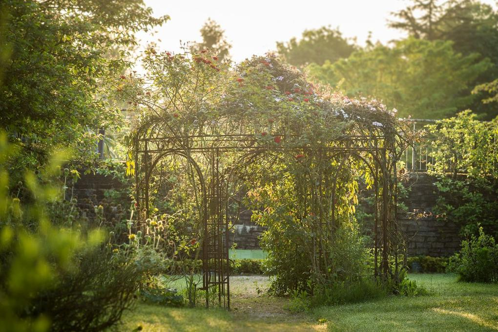 visite de jardin- Yves Rocher La Gacilly