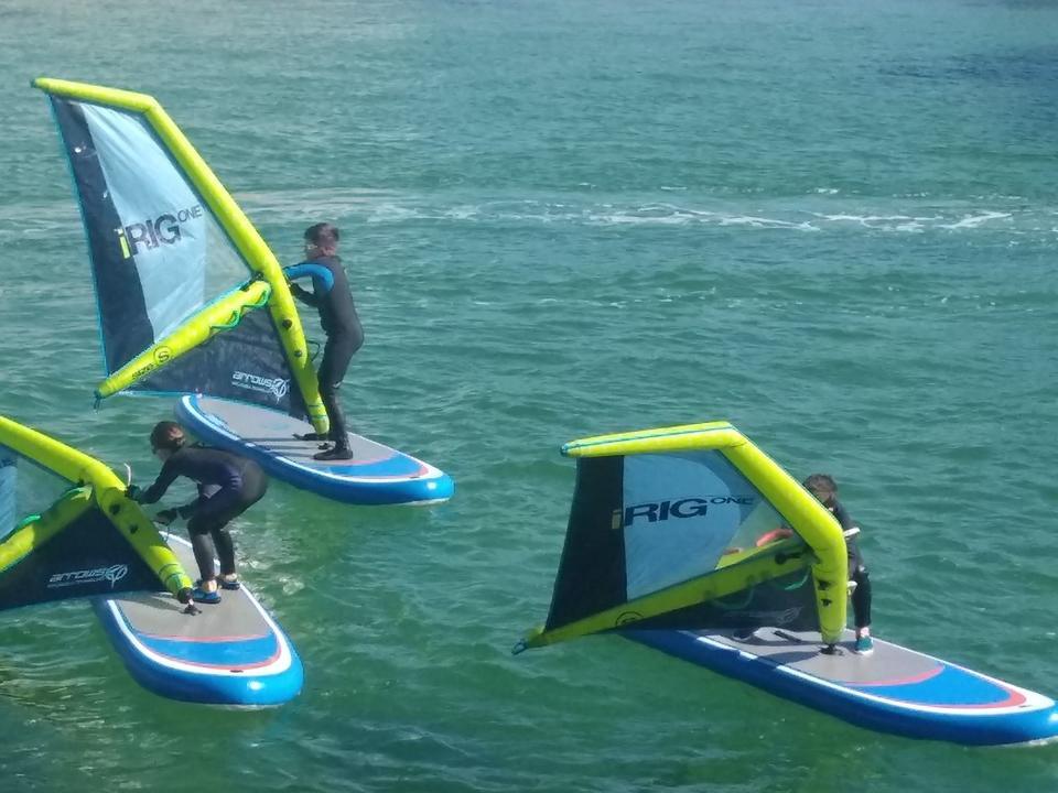 stage mini glisse planche à voile yacht club Carnac
