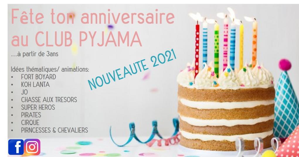 fête d'anniversaire au club pyjama_ Carnac