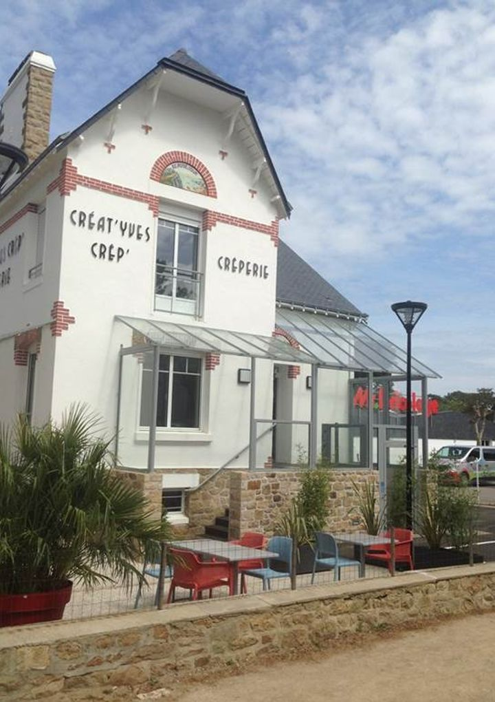 Creperie-facade du restaurant-carnac-Morbihan-bretagne-sud