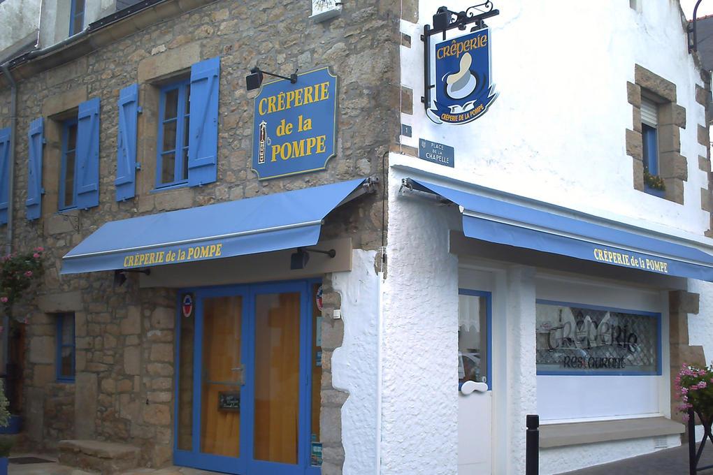 Extérieur - Creperie de la pompe Carnac- Morbihan Bretagne Sud