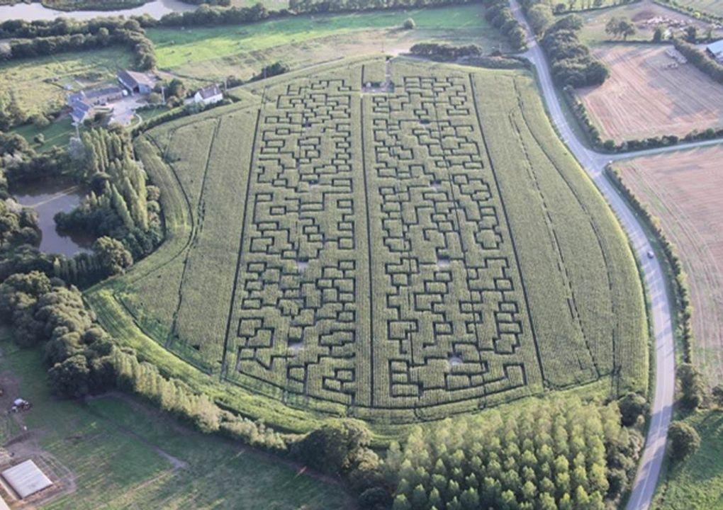 pop corn labyrinthe ploemel carnac