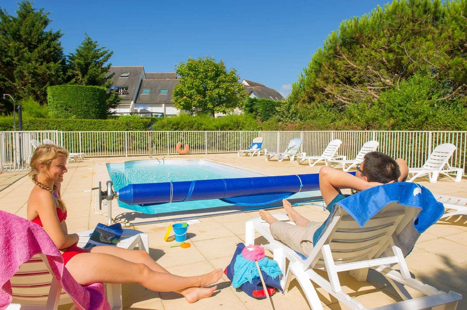 piscine_résidence de tourisme Goelia à Carnac