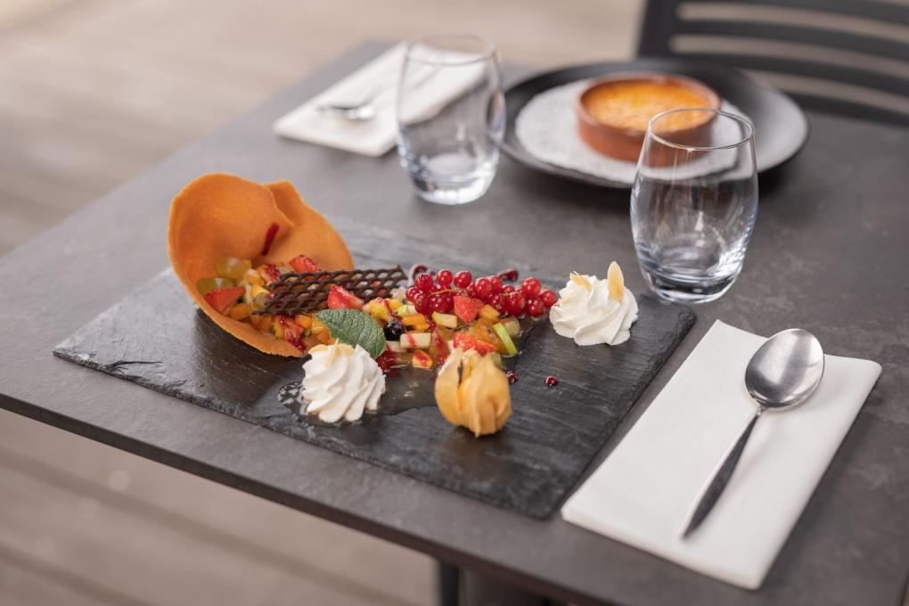 dessert_ casino_circus bistro à Carnac