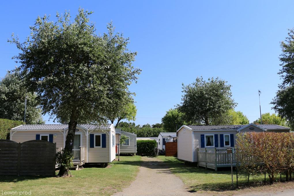 Emplacement - mobil-home - Camping de kersily - Plouharnel - Morbihan Bretagne Sud