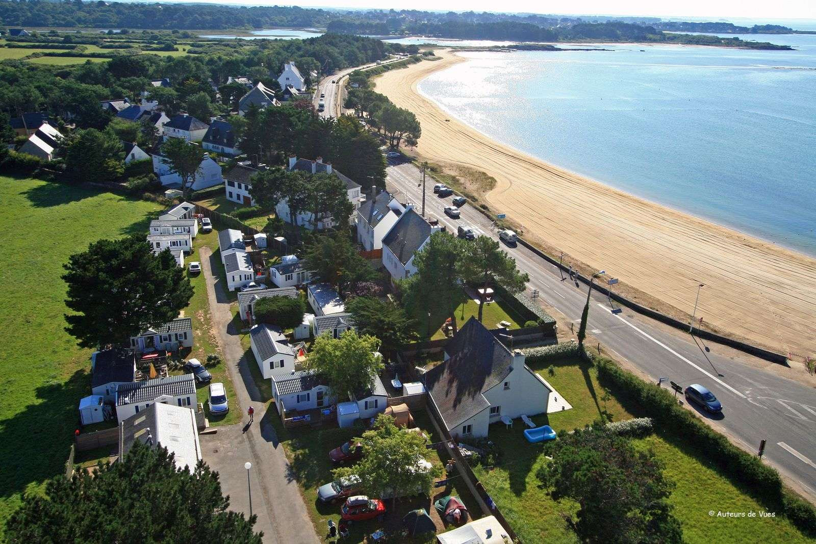 vue-aerienne_plage_camping-de-l-ocean_carnac