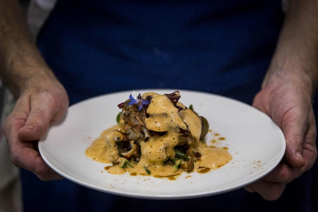 assiette_restaurant_cote_cuisine_michelin_Carnac_Morbihan_Bretagne_Sud