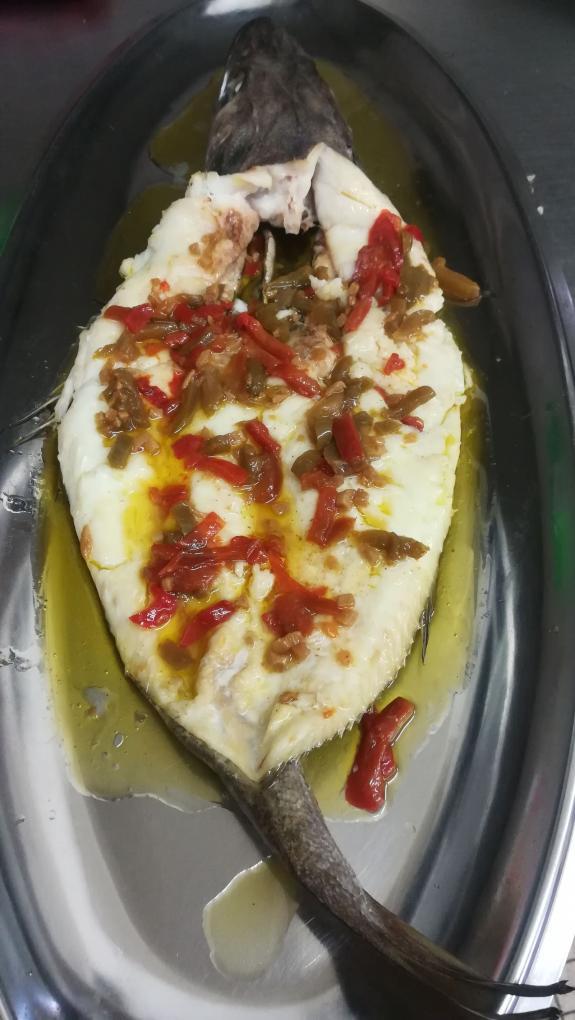 Plat de poisson_Carnac_Restaurant le kreiz